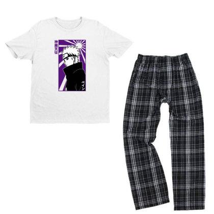 Pain Naruto Youth T-shirt Pajama Set Designed By Paísdelasmáquinas