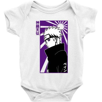 Pain Naruto Baby Bodysuit Designed By Paísdelasmáquinas