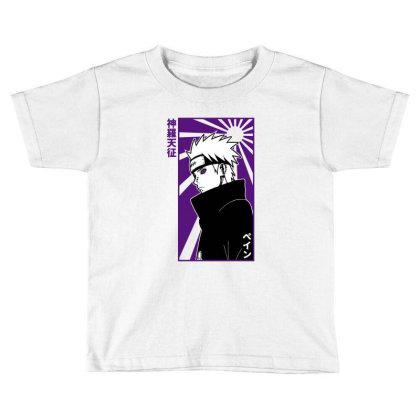 Pain Naruto Toddler T-shirt Designed By Paísdelasmáquinas