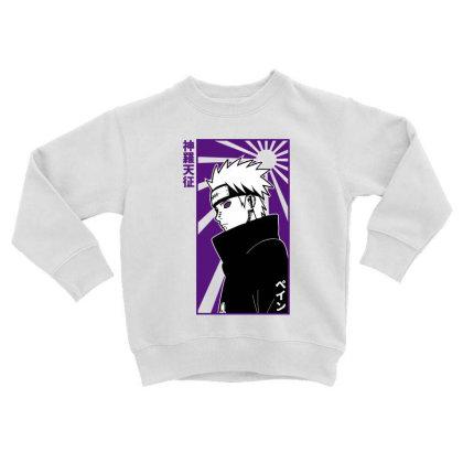 Pain Naruto Toddler Sweatshirt Designed By Paísdelasmáquinas
