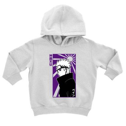 Pain Naruto Toddler Hoodie Designed By Paísdelasmáquinas