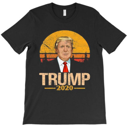 Donald Trump For President 2020 Retro Vintage T-shirt Designed By Kakashop