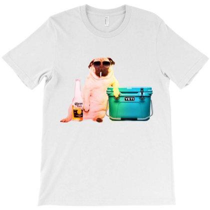 Pug Life T-shirt Designed By Kickbkk