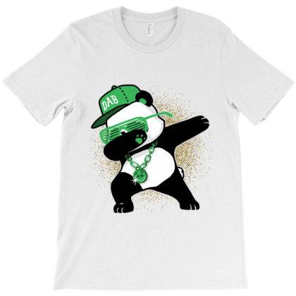 Panda Dab Life T-shirt Designed By Dropshop