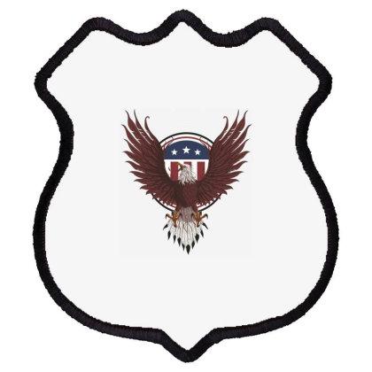Eagle, Usa, America Shield Patch Designed By Estore