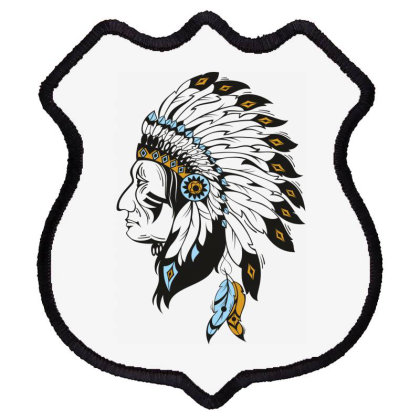 American Indian Shield Patch Designed By Estore
