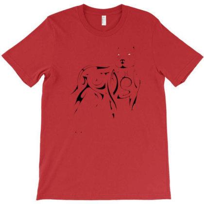 Dog Tattoo T-shirt Designed By Mehar Badshah