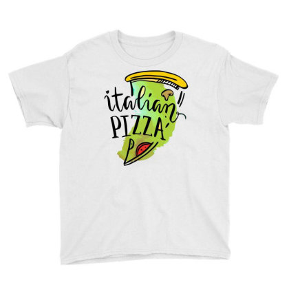 Italian Pizza Youth Tee Designed By Hoainv
