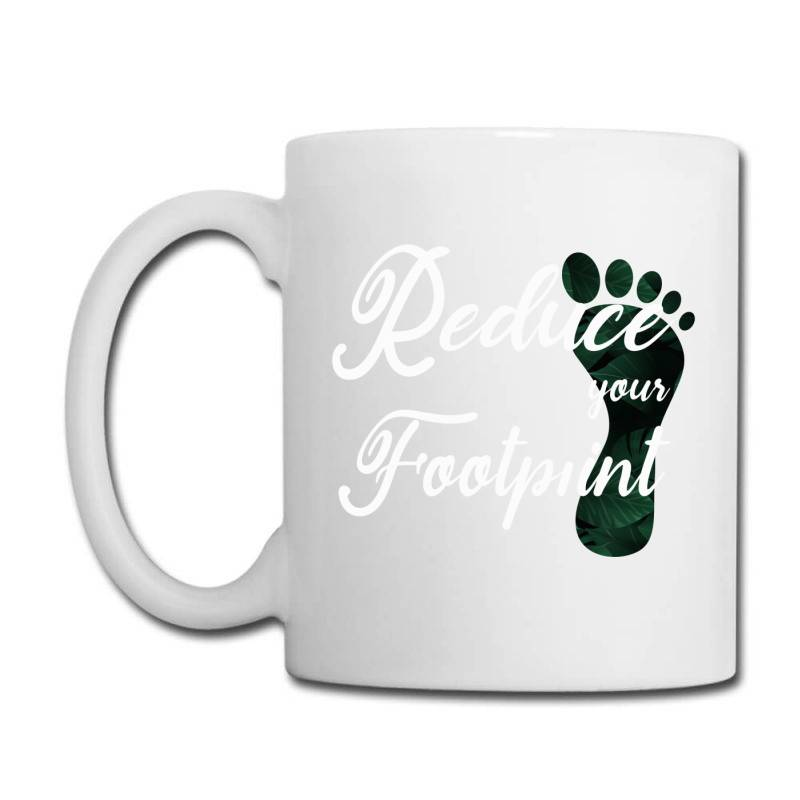 Climate Change Reduce Your Carbon Footprint Gift Coffee Mug | Artistshot