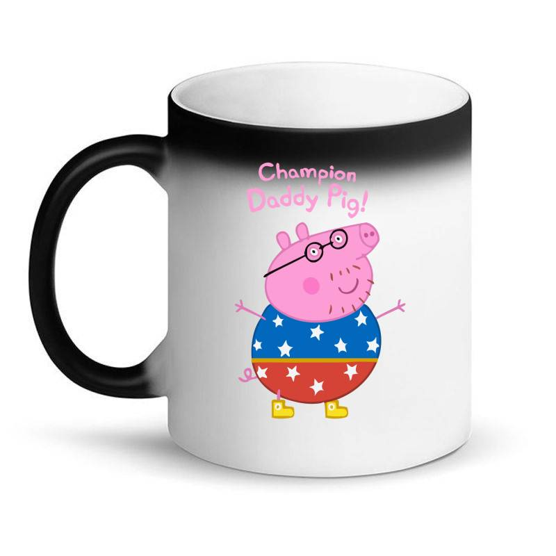 Daddy Pig Champion Magic Mug | Artistshot