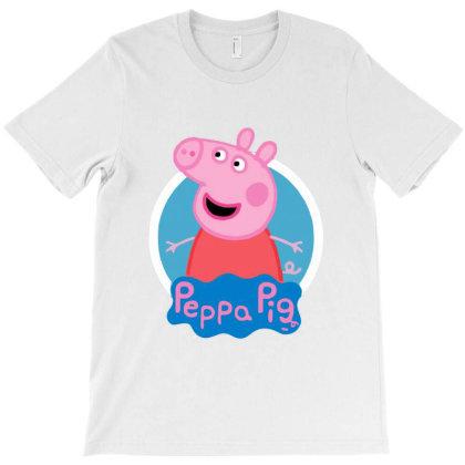 Peppa Pig T-shirt Designed By Ampun Dj