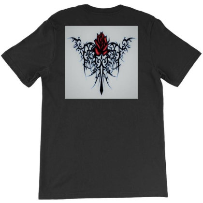 Arctic Rose T-shirt Designed By Scissor Hands