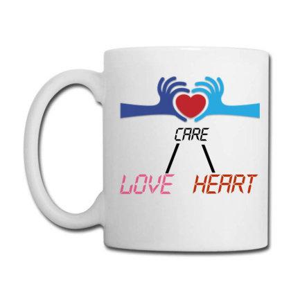 Care Heart Love Coffee Mug Designed By Oht