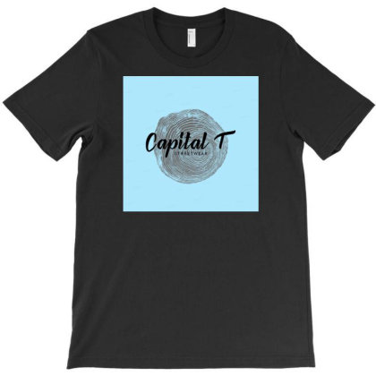 Capital T(-shirt) T-shirt Designed By Scissor Hands