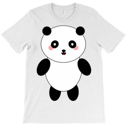 Panda Bear Mammal Animal T-shirt Designed By Salmanaz