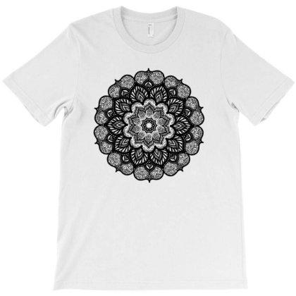 Lotus Petal Mandala T-shirt Designed By Aaishwarya