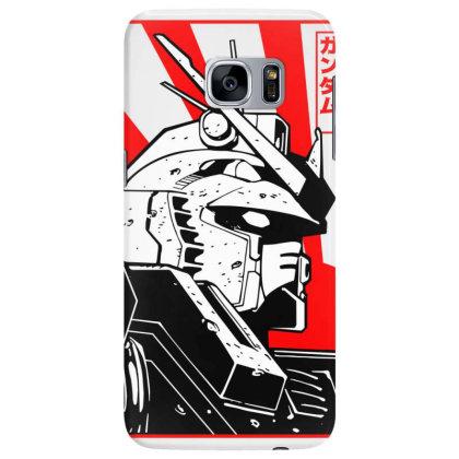 Gundam Head Samsung Galaxy S7 Edge Case Designed By Paísdelasmáquinas