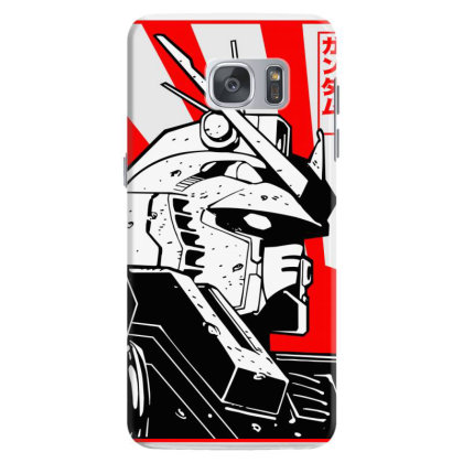 Gundam Head Samsung Galaxy S7 Case Designed By Paísdelasmáquinas