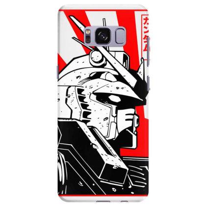 Gundam Head Samsung Galaxy S8 Plus Case Designed By Paísdelasmáquinas