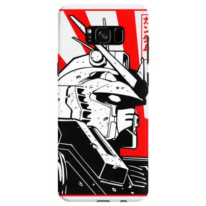 Gundam Head Samsung Galaxy S8 Case Designed By Paísdelasmáquinas