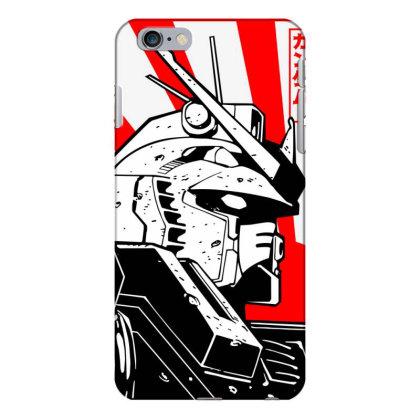 Gundam Head Iphone 6 Plus/6s Plus Case Designed By Paísdelasmáquinas