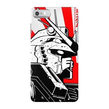 Gundam Head Iphone 7 Case Designed By Paísdelasmáquinas