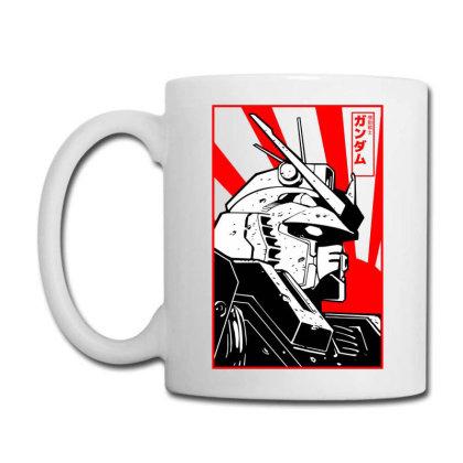 Gundam Head Coffee Mug Designed By Paísdelasmáquinas