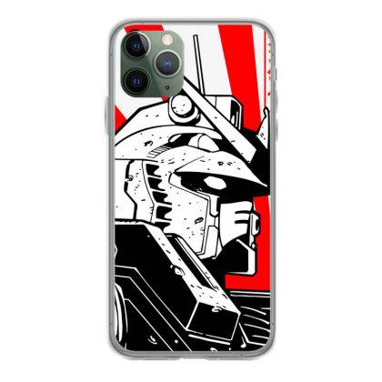 Gundam Head Iphone 11 Pro Case Designed By Paísdelasmáquinas