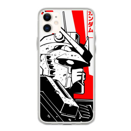 Gundam Head Iphone 11 Case Designed By Paísdelasmáquinas