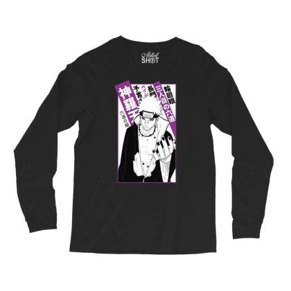 Pain Kanji Long Sleeve Shirts Designed By Paísdelasmáquinas