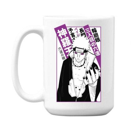 Pain Kanji 15 Oz Coffe Mug Designed By Paísdelasmáquinas