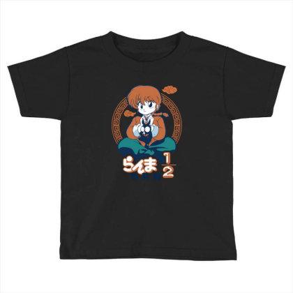 Ranma Toddler T-shirt Designed By Paísdelasmáquinas