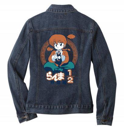 Ranma Ladies Denim Jacket Designed By Paísdelasmáquinas