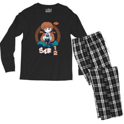 Ranma Men's Long Sleeve Pajama Set Designed By Paísdelasmáquinas