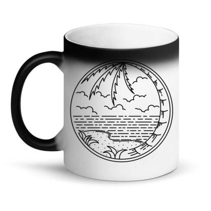 Beach Line Magic Mug Designed By Quilimo