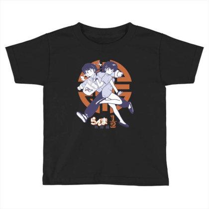 Ranma 2 Toddler T-shirt Designed By Paísdelasmáquinas