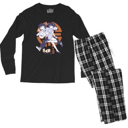 Ranma 2 Men's Long Sleeve Pajama Set Designed By Paísdelasmáquinas