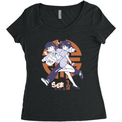 Ranma 2 Women's Triblend Scoop T-shirt Designed By Paísdelasmáquinas