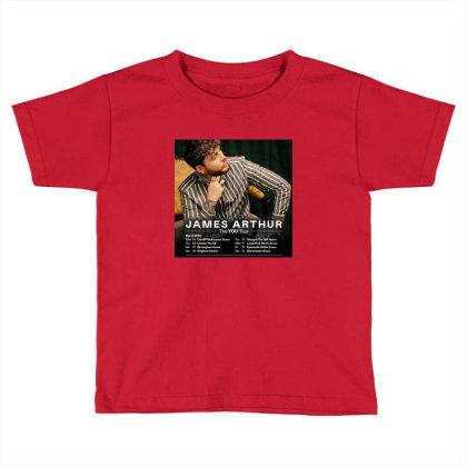 Tour James Katess Arthur Toddler T-shirt Designed By Devanojohnsantos