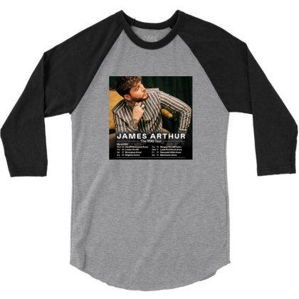Tour James Katess Arthur 3/4 Sleeve Shirt Designed By Devanojohnsantos
