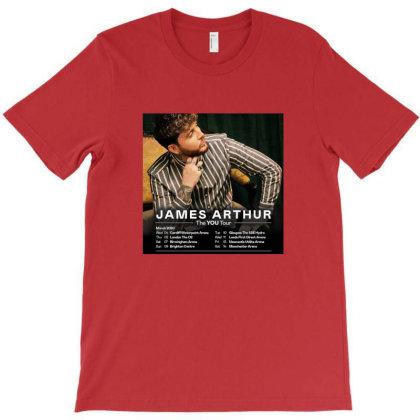 Tour James Katess Arthur T-shirt Designed By Devanojohnsantos