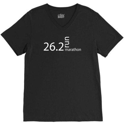 Marathon T Shirt 26 V-neck Tee Designed By Tompa Shirt