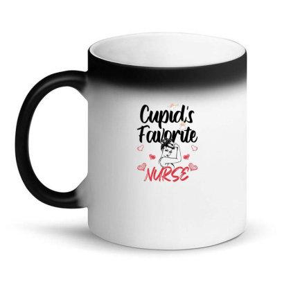 Cupid's Favorite Nurse For Light Magic Mug Designed By Sengul