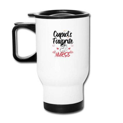 Cupid's Favorite Nurse For Light Travel Mug Designed By Sengul