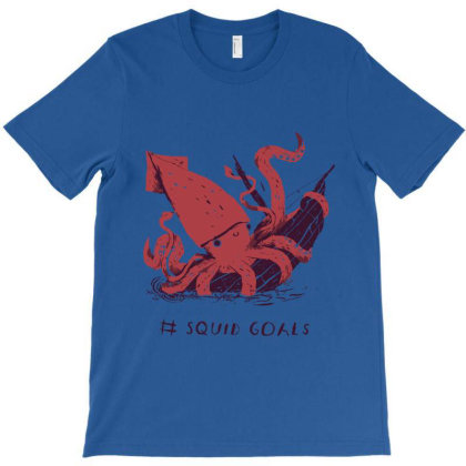 Sguid Goals T-shirt Designed By Dropshop