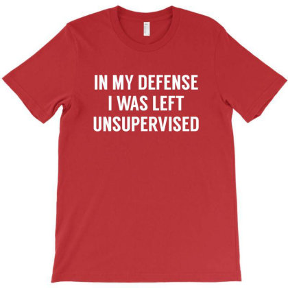 My Defense Quotes T-shirt Designed By Michelziud