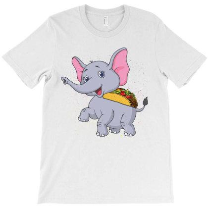 Elephant Taco Holder T-shirt Designed By Hoainv