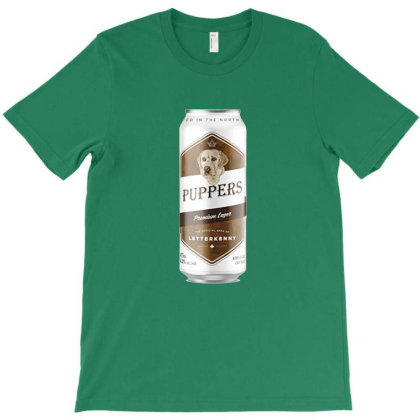 Puppers Drink T-shirt Designed By Michelziud