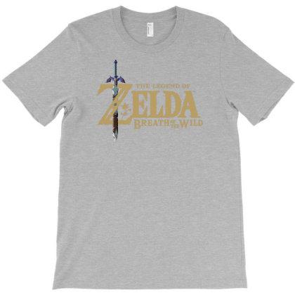 Botw Zelda T-shirt Designed By Badprisoner05