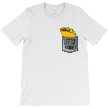 Tacos In Pocket T Shirt T-shirt Designed By Hoainv